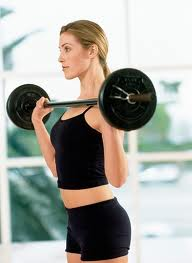 Lift weights build curves